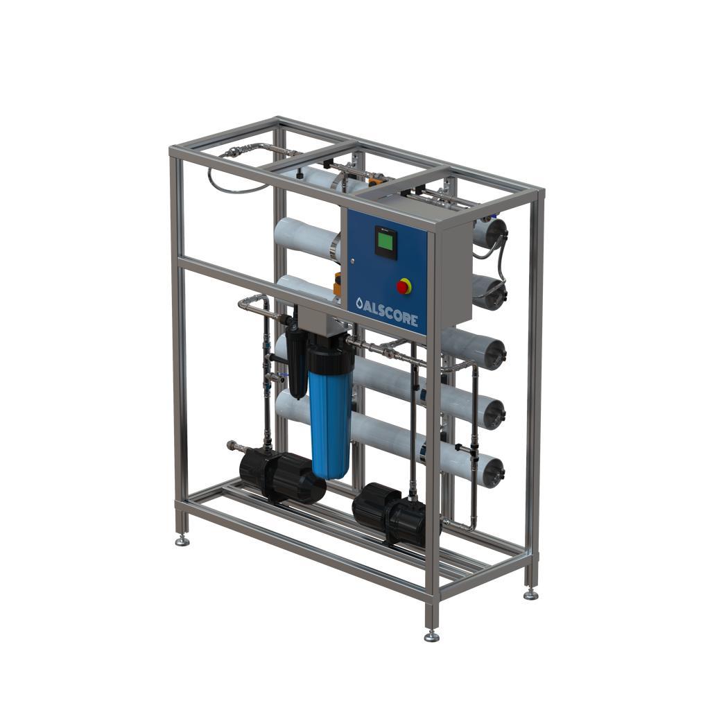 BWRO small desalination unit