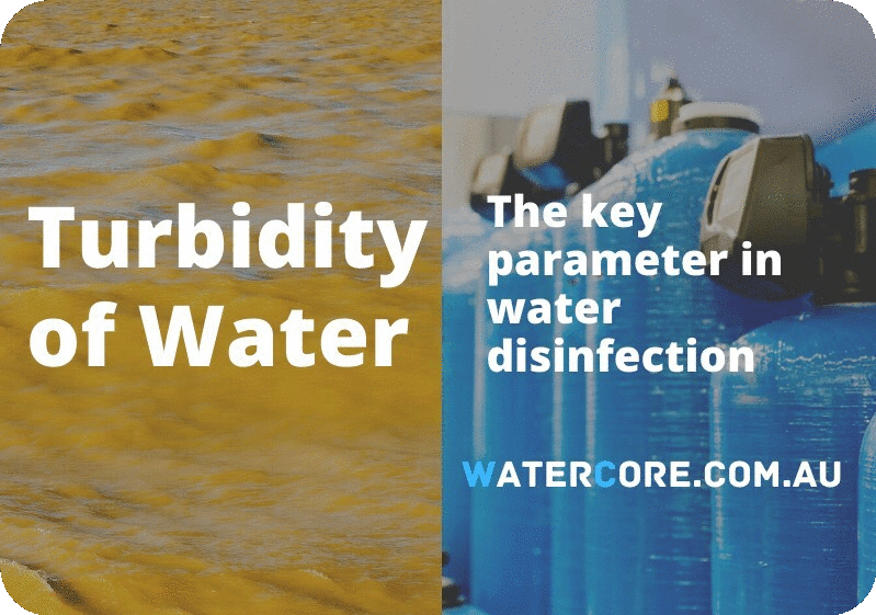 Turbidity in water as key parameter in water disinfection