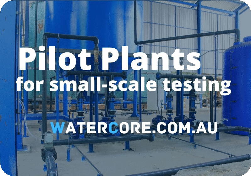 Pilot Plants for small-scale testing of water treatment