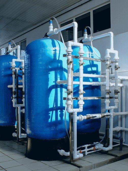 industrial ion exchange softening process
